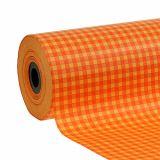 Polsino in carta 25 cm 100 m Plaid arancione