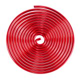 Filo di alluminio rosso lumaca 2mm 120cm