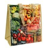 Borsa shopping con manici armonia 35 × 18 × 39 cm in plastica