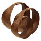 Set di foglie di palma natura 21 cm -26 cm