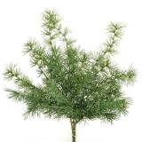 Ramo di pino artificiale verde 53 cm 3 pezzi