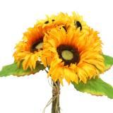 Mazzo decorativo mazzo di girasoli giallo 30 cm