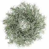 Ghirlanda decorativa Ø30cm con glitter verde